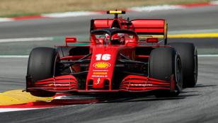 Váratlanul erőre kapott a Ferrari Barcelonában