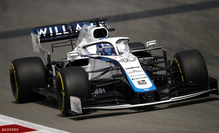 Roy Nissany a Williamsben a 2020-as Spanyol Nagydíj első szabadedzésén