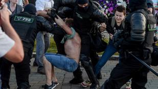 Erőből egyre nehezebb lenyomni a tüntetéseket Belaruszban