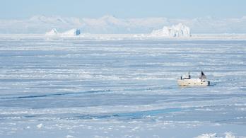 Már megállíthatatlan a grönlandi jégmező olvadása