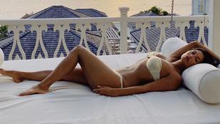 Új, szexi, nyaralós fotók a hétvégére Vajna Tímeától és Nicole Scherzingertől!