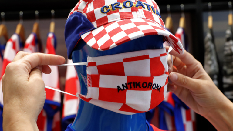 Koronavírus: Horvátországban második napja van rekordszámú új fertőzött