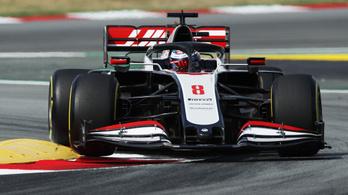 F1: Grosjean szállította a második spanyol edzés meglepetését