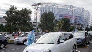 Új-Zélandon megint karanténnal küzdenek a járvány ellen