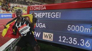 Tizenhat év után megdőlt az 5000 méteres síkfutás világrekordja
