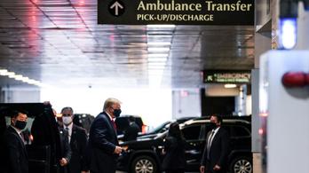 Trump maszkban látogatta meg súlyosan beteg testvérét a kórházban
