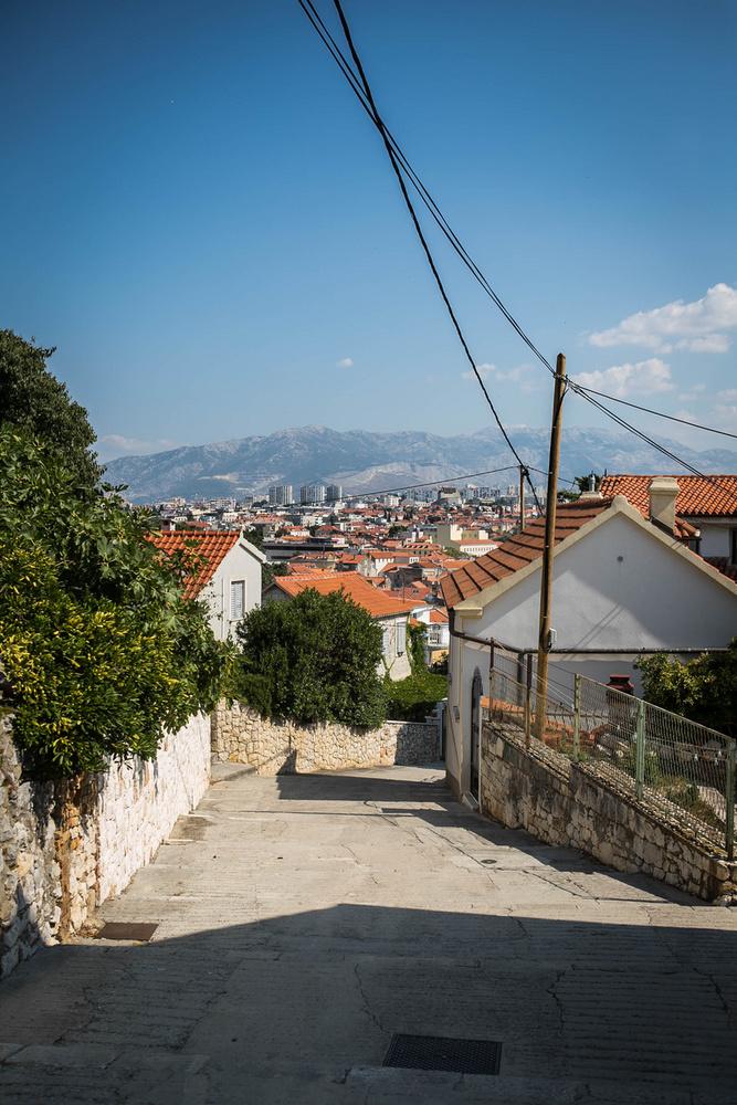 Utunk utolsó állomása a Marjan-hegy: Split óvárosából 30-45 perc séta felérni a hegytetőre