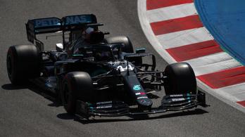 Hamilton hajszállal verte Bottast, övé a spanyol időmérő