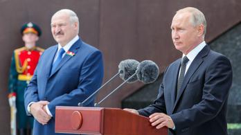 Putyin a támogatásáról biztosította a belarusz elnököt