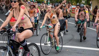 Kösz, koronavírus: Elmarad az idei pucér kerékpáros felvonulás Philadelphiában