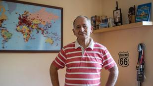 A magyar férfi, aki több országban járt, mint amennyi hivatalosan létezik