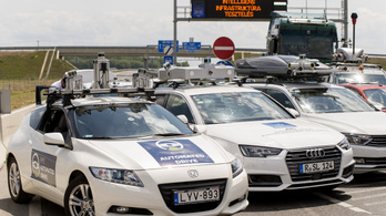 KPMG: Magyarország a 25. helyen szerepel az önvezető autózás terén