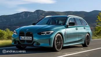 Ilyen vaddisznó lesz a BMW M3 Touring?