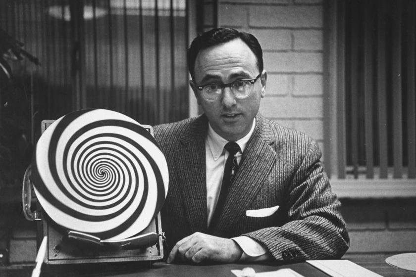 Hipnózis a '60-as években.