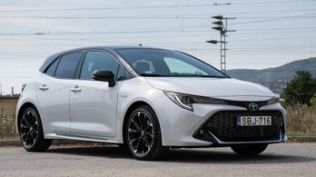 Teszt: Toyota Corolla GR-Sport Dynamic Force Hybrid 184 LE – 2020.