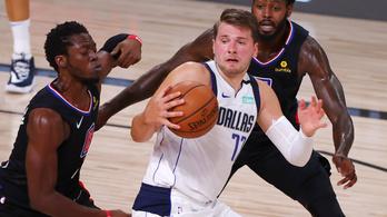 42 ponttal debütált az NBA rájátszásában Luka Dončić