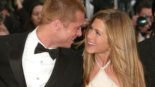 19 év után újra közös szereplést vállalt Brad Pitt és Jennifer Aniston