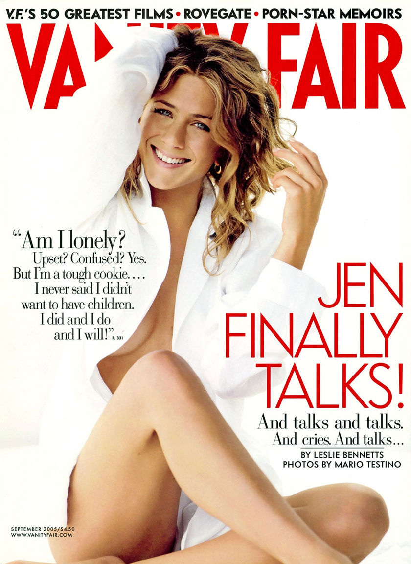 jennifer aniston vanity fair