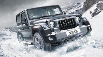 Vadonatúj Jeep-másolat jön Indiából