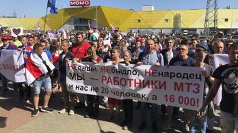 Lemondott Lukasenko diplomatája, miután kiállt a tüntetők mellett