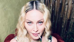 Madonna lányával, pasijával és egy nagy tál fűvel ünnepelte 62. születésnapját