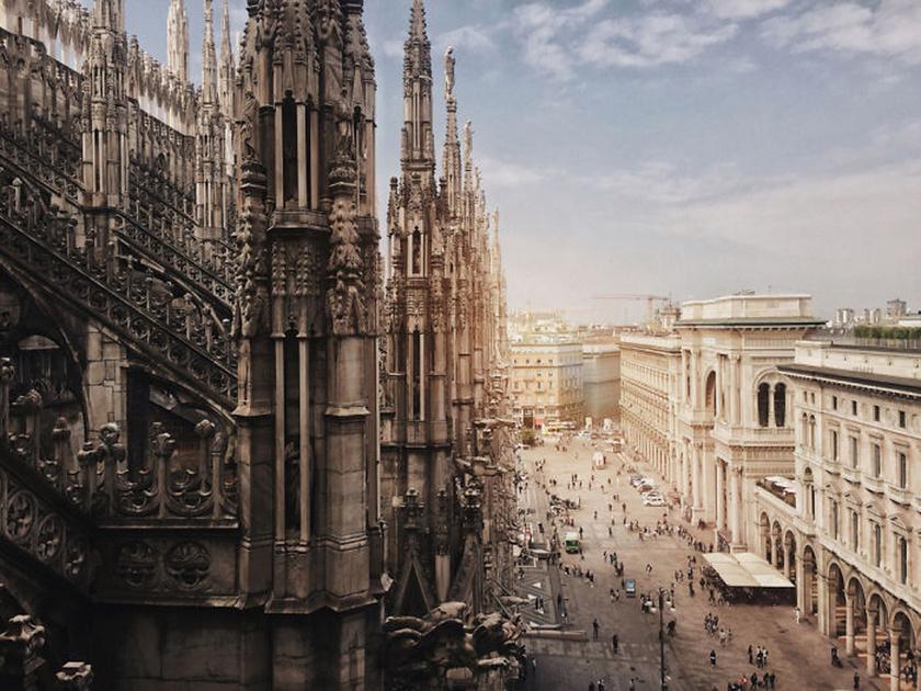 Milánói dóm. Építészet kategória, első helyezett.