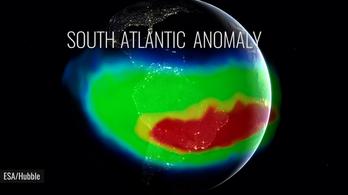 Valami furcsa dolog történik a Föld mágneses mezejével