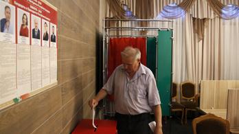 Lukasenkóra a Budapesten voksoló belaruszok 2 százaléka szavazott