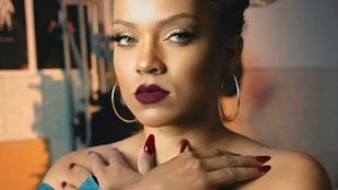 Rihanna újabb hasonmást talált, meg is kérdezte tőle, hol van már az új albuma
