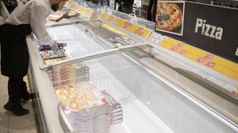 6700 tonna fagyasztott pizzát termeltek be a magyarok