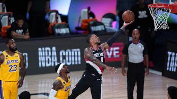Kikapott az NBA két legjobb csapata a rájátszás első meccsén