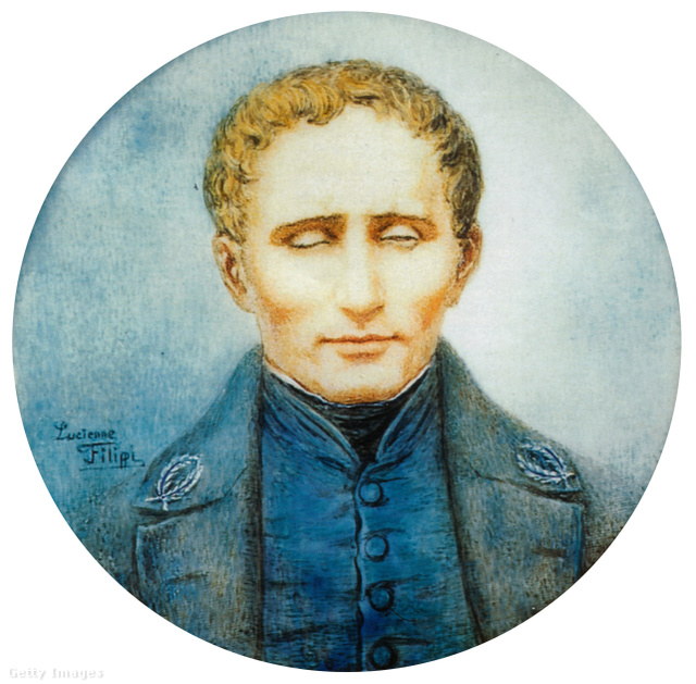Louis Braille portréja