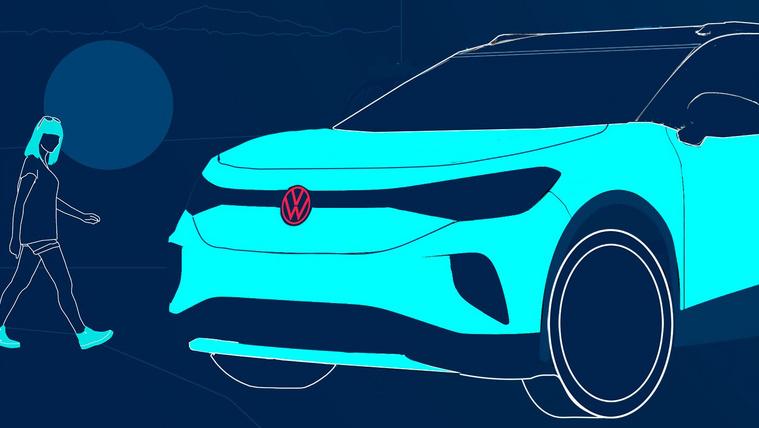Gyári előzetes a Volkswagen ID.4-ről