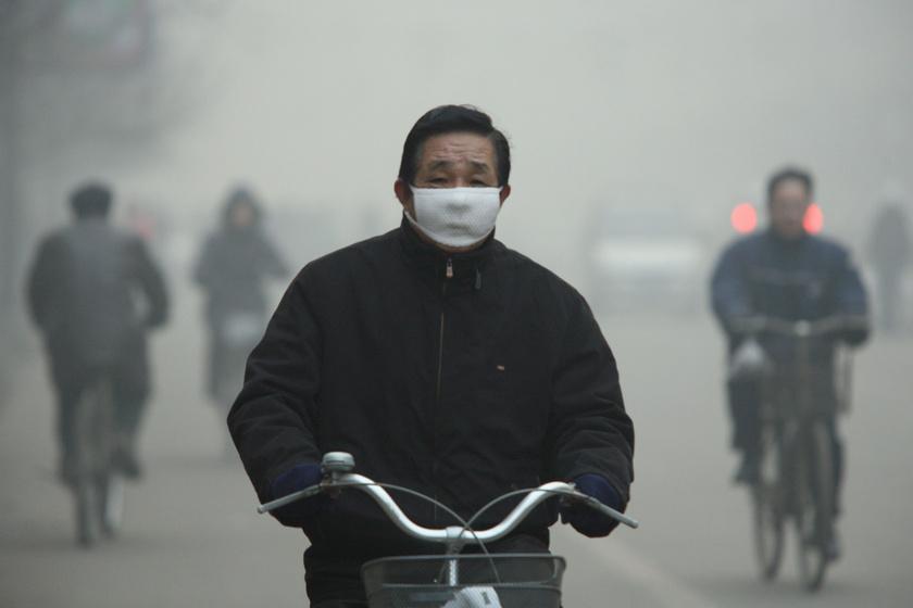 Képeken a világ egyik legszennyezettebb városa, a kínai Linfen: lakói folyamatos füstben élnek