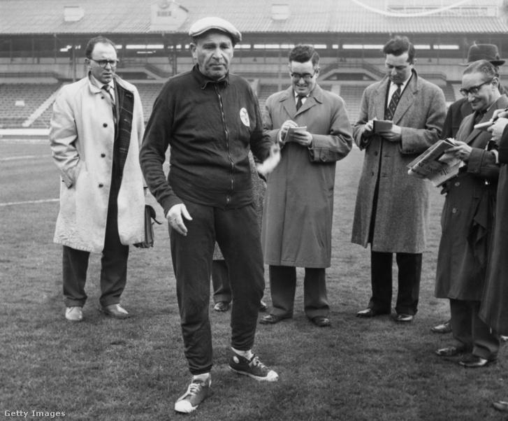 Guttmann Béla 1962-ben