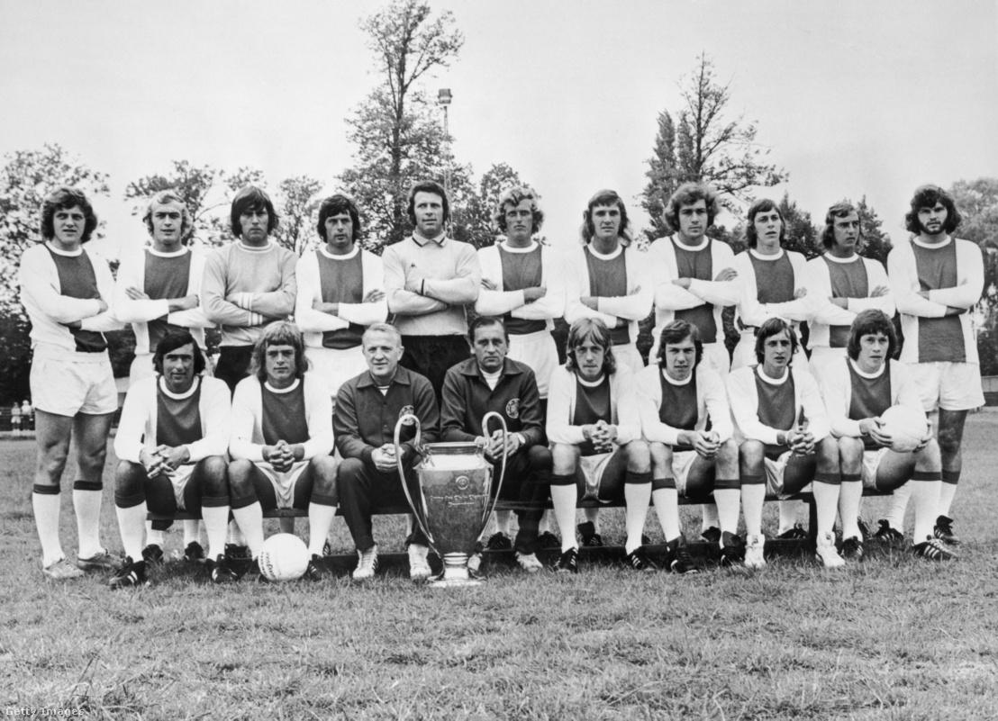 Kovács István 1973-ban (alsó sor, balról a harmadik)