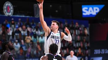 NBA: Doncic vezérletével egyenlített a Dallas