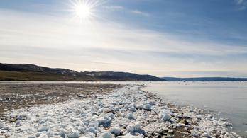 2019-ben annyi jég olvadt el Grönlandon, hogy attól 1,5 mm-t emelkedett a tengerek vízszintje