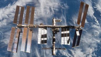 Szivárog a levegő a Nemzetközi Űrállomásról