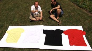 Hány fok van egy metálos pólója alatt?