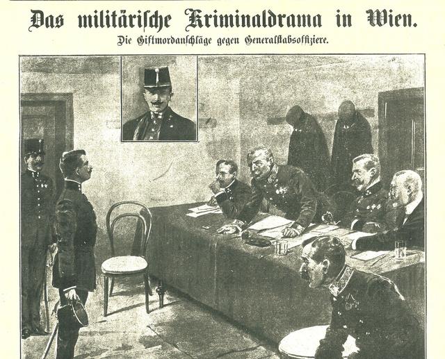 Hofrichter a bíróság előtt