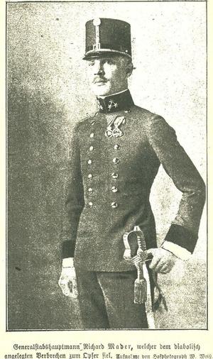 Richard Mader százados