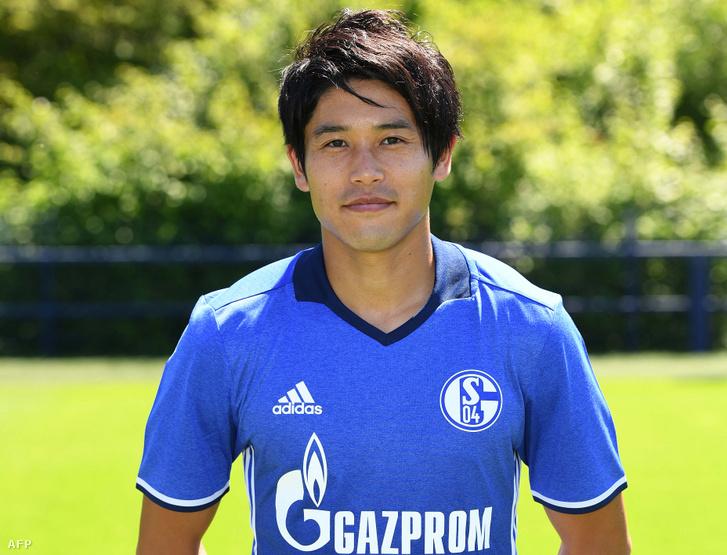 Ucsida Acuto egy 2014-ben készült képen a Schalke 04 játékosaként
