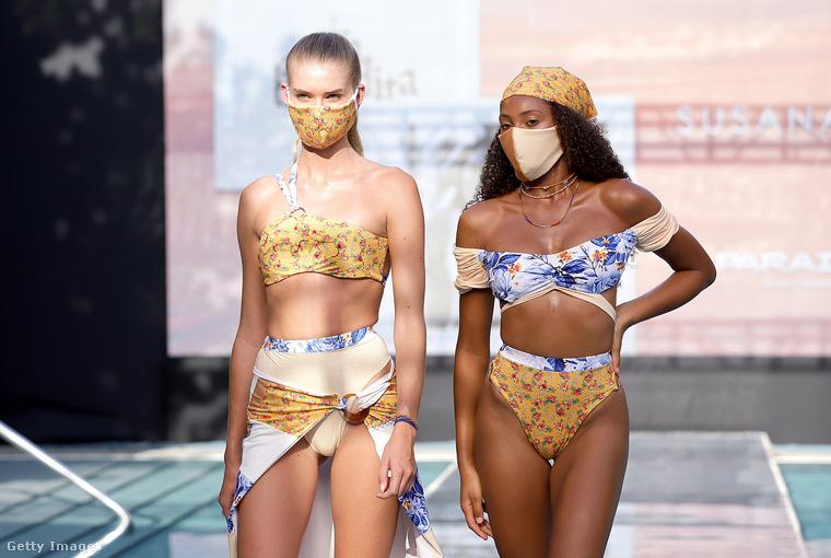 Korona ide, vírus oda, Miami lakói eddig bírták egy jó kis fürdőruhás divatbemutató-sorozat nélkül! A járvány a divatiparnak is komolyan betett, de most Miami Beach folytatja a bemutatókat, igaz, kicsit máshogy, mint korábban