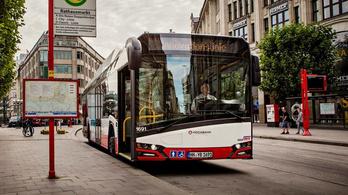 Óriási villanybuszos beszerzésre készül Hamburg