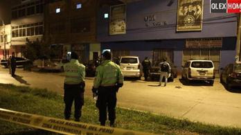Legalább 13 embert agyontapostak egy járványügyi tilalomra fittyet hányó perui klubban