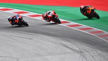 MotoGP: a legutolsó kanyarban dőlt el a Stájer Nagydíj, harmadikból lett első