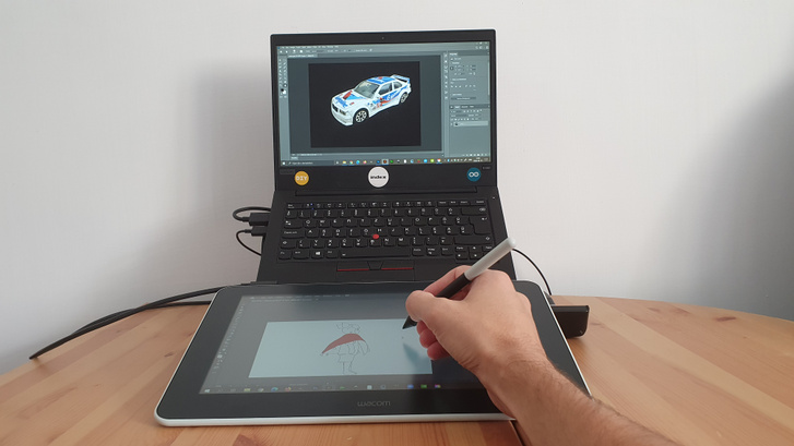A Wacom One tablettel bármilyen számítógép érintőkijelzős lesz, akár az asztali PC-nk is.