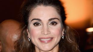 Jordánia 50 éves királynéja simán letagadhatna minimum tíz évet