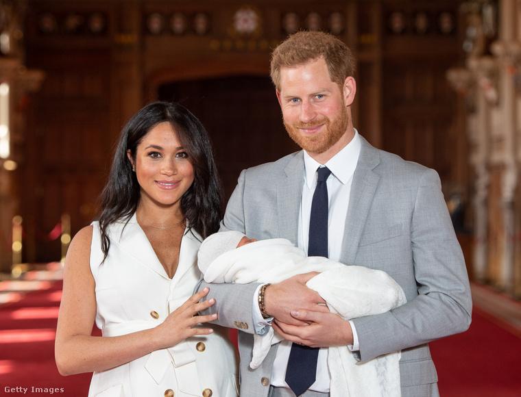 Harry herceg és Meghan Markle életének következő mérföldköve első fiuk, Archie megszületése volt, 2019 májusában